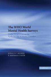 Who world mental health surveys global perspectives epidemiology mental  disorders | Epidemiology, public health and medical stat