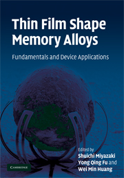 Thin Film Shape Memory Alloys