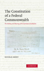 The Constitution of a Federal Commonwealth