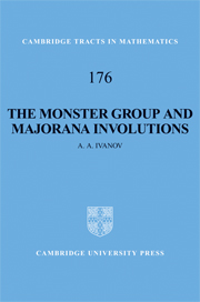 The Monster Group and Majorana Involutions