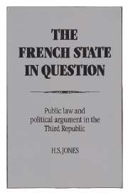The French State in Question