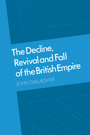 The Decline, Revival and Fall of the British Empire