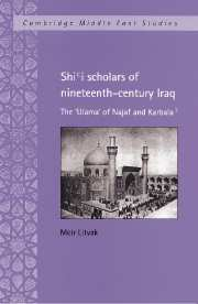 Shi'i Scholars of Nineteenth-Century Iraq
