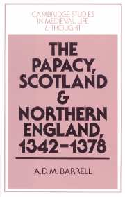 The Papacy, Scotland and Northern England, 1342–1378