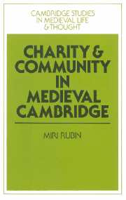 Charity and Community in Medieval Cambridge