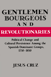 Gentlemen, Bourgeois, and Revolutionaries