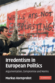Irredentism in European Politics