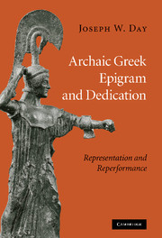 Archaic Greek Epigram and Dedication