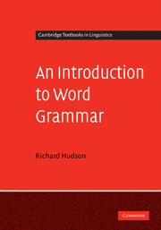 An Introduction to Word Grammar
