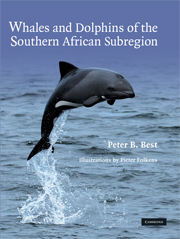 Whales and Dolphins of the Southern African Subregion