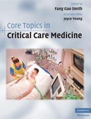 Core topics critical care medicine | Anesthesia, intensive care, pain  management