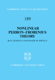 Nonlinear Perron–Frobenius Theory
