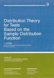 Distribution Theory for Tests Based on Sample Distribution Function