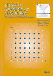 Pitman's Measure of Closeness
