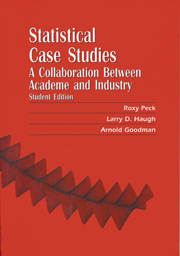 Statistical Case Studies