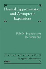 Normal Approximation and Asymptotic Expansions