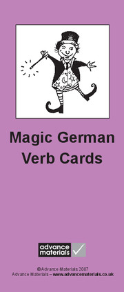 Magic German Verb Cards
