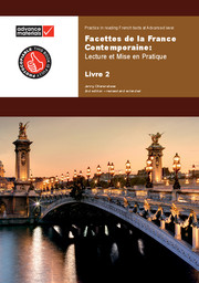Facettes de la France contemporaine Level 2 Practice Book