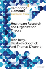 Health Care Research and Organization Theory