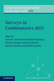 Surveys in Combinatorics 2021