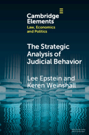 The Strategic Analysis of Judicial Behavior