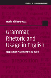 Grammar, Rhetoric and Usage in English
