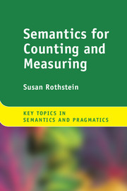 semantics for counting and measuring by susan rothstein