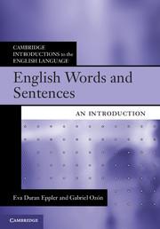 English Words and Sentences by Eva Duran Eppler