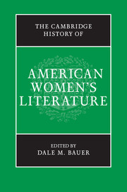 The Cambridge History of American Women's Literature