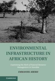 Environmental Infrastructure in African History