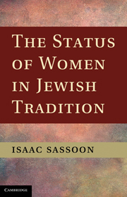 The Status of Women in Jewish Tradition