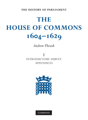 The House of Commons 1604–1629