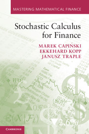 Stochastic Calculus for Finance