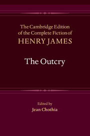 <I>The Outcry</I>