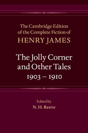The Jolly Corner and Other Tales, 1903–1910