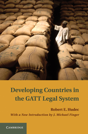 Developing Countries in the GATT Legal System