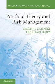 Portfolio Theory and Risk Management