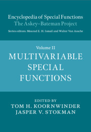 Encyclopedia of Special Functions: The Askey-Bateman Project