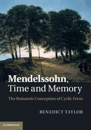 Mendelssohn, Time and Memory
