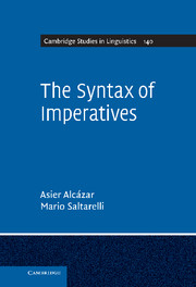 The Syntax of Imperatives