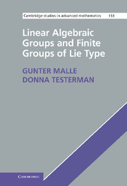 Linear Algebraic Groups and Finite Groups of Lie Type