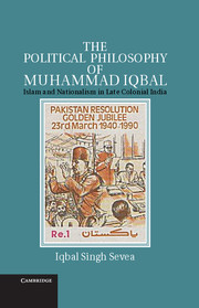 The Political Philosophy of Muhammad Iqbal