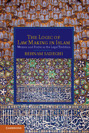 The Logic of Law Making in Islam