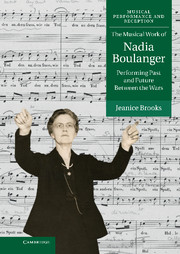 The Musical Work of Nadia Boulanger