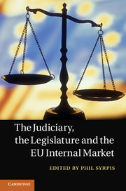 The Judiciary, the Legislature and the EU Internal Market