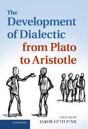 The Development of Dialectic from Plato to Aristotle