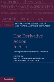 The Derivative Action in Asia