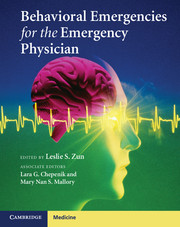 Behavioral Emergencies for the Emergency Physician