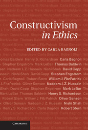 Constructivism in Ethics