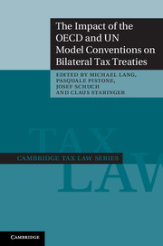The Impact of the OECD and UN Model Conventions on Bilateral Tax Treaties